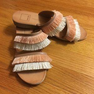 Dolce Vita frill sandals women's size 7.5